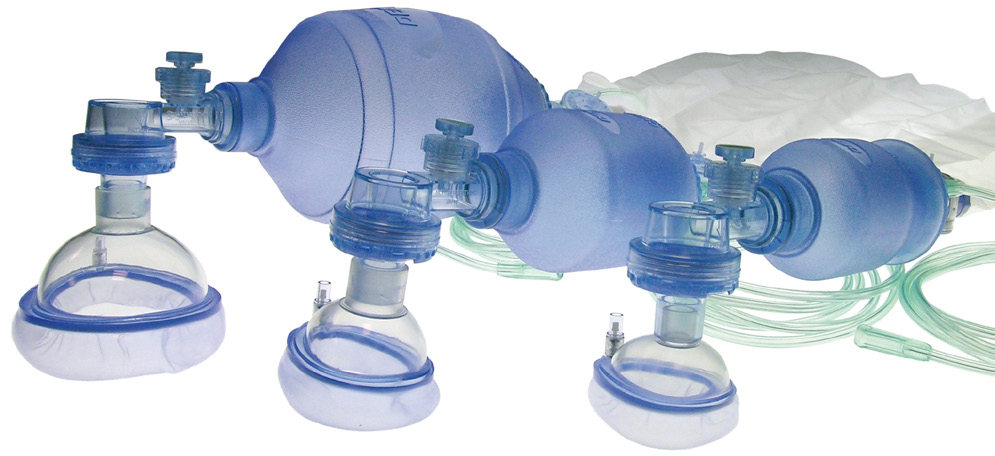 Single use self-inflating manual resuscitator