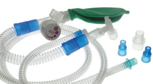 Mapleson F (Jackson-Rees) manual breathing unit with APL valve - 40 cmH2O pressure relief valve