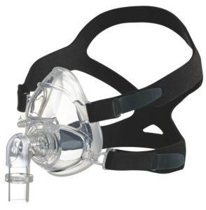 Autoclavable full face mask for non-invasive ventilation (NIV)