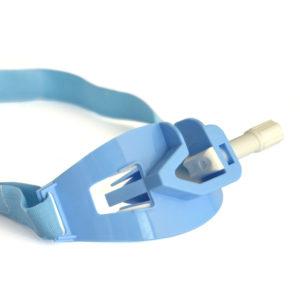 Dispositivo di fissaggio per tubi tracheali ed extraglottici con bloccamorso