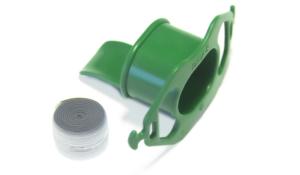 Endoscopic mouthpiece with tongue depressor